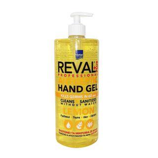 InterMed Reval Plus Lemon 1000ml Αντισηπτικό Χεριών Λεμόνι