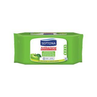Septona Antibacterial Refresh Wipes 60 Items