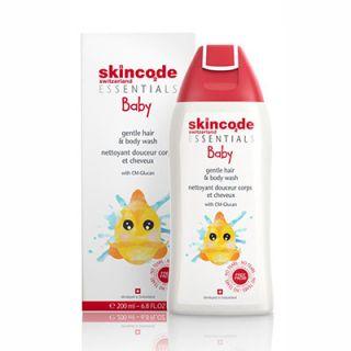 Skincode Baby Gentle Hair and Body Wash 200ml