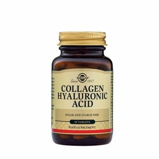 Solgar Collagen Hyaluronic Acid 30 Tabs