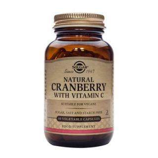 Solgar Cranberry Extract with vit C 60 Veg. Caps