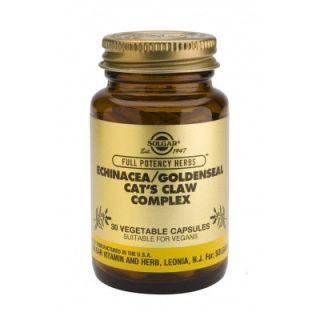 Solgar Echinacea - Goldenseal - Cat's Claw Complex 30 Veg. Caps