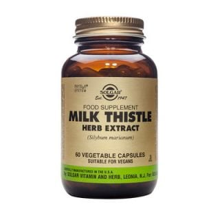 Solgar Milk Thistle Herb & Seed Extract 60 Caps