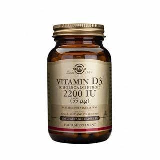 Solgar Vitamin D3 2200IU 100 Veg. Caps