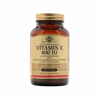 Solgar Vitamin E 400IU 100 Softgels