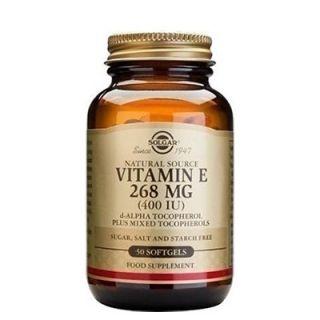 Solgar Vitamin E 400IU 50 Softgels