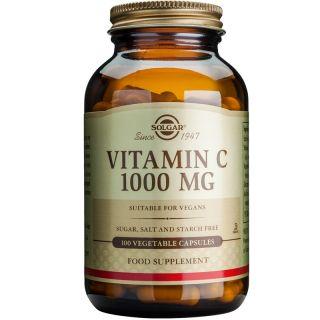 Solgar Vitamin C 1000mg 100 Caps