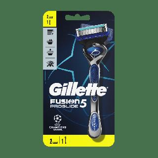 Gillette Fusion5 ProGlide 1 Τεμάχιο + 2 Aνταλλακτικά Ξυριστική Mηχανή με Τεχνολογία FlexBall