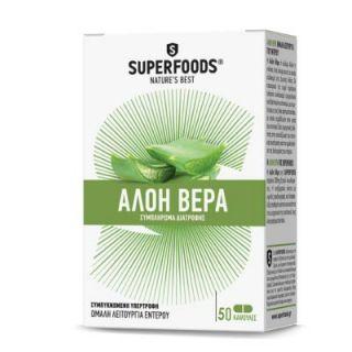 Superfoods Aloe Vera 50 Caps