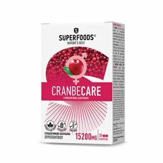 Superfoods Cranbecare 15200mg 30 Caps