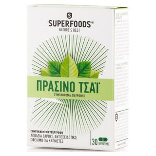 Superfoods Green Tea 30 Caps