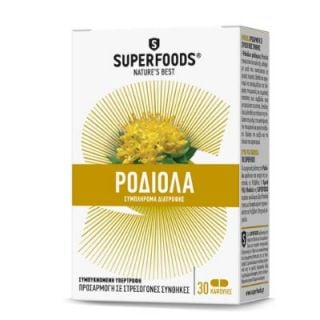 Superfoods Golden Root Rhodiola 30 Caps