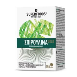 Superfoods Spiroulina Gold 180 Tabs