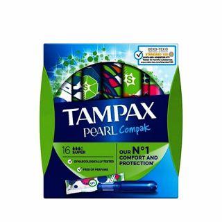 Tampax Compak Pearl Super 16