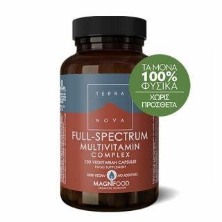 Terranova Full-Spectrum Multivitamin Complex 100 Caps