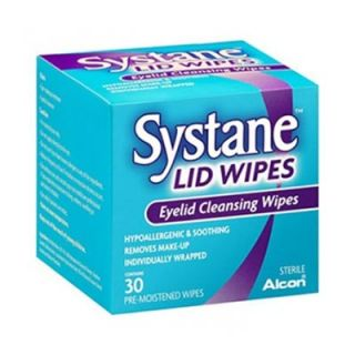Alcon Systane Lid Wipes 30 Wipes for Eyelid