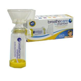 Asepta Breathcare Chamber Inhaler for Children 1-5 Years 1 Item