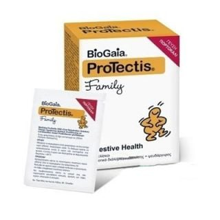BioGaia ProTectis Family Potable Probiotic Solution with Zinc - Taste Orange 5.5gr x 7 Sachets