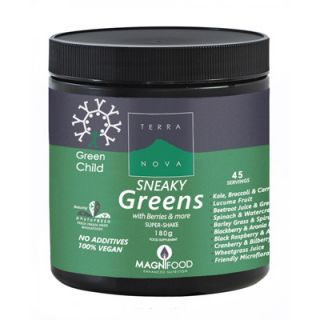 Terranova Green Child Sneaky Greens Super-shake 180gr Yπερτροφές σε Σκόνη για Παιδιά