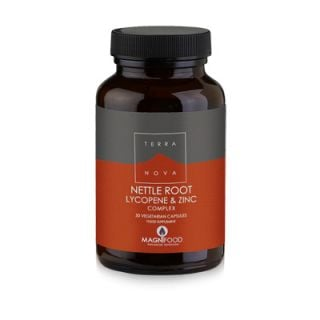 Terranova Prostate Support Nettle Root, Lycopene & Zinc Complex 50 Caps Προστασία Προστάτη