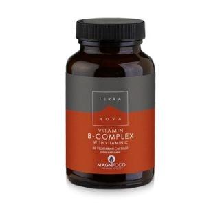 Terranova Vitamin B-Complex with Vitamin C 50 Caps