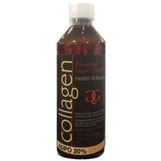 Collagen Pro-Active FREE 20% More Product Liquid Collagen Strawberry 600ml