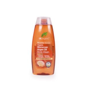 Dr. Organic Organic Moroccan Argan Oil Body Wash 250ml Αφρόλουτρο Έλαιο Αργκάν