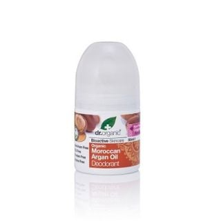 Dr. Organic Organic Moroccan Argan Oil Deodorant 50ml Αποσμητικό Έλαιο Αργκάν