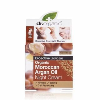 Dr. Organic Organic Moroccan Argan Oil Night Cream 50ml Anti-aging