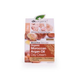 Dr. Organic Organic Moroccan Argan Oil Day Cream 50ml Κρέμα Ημέρας με Έλαιο Αργκάν