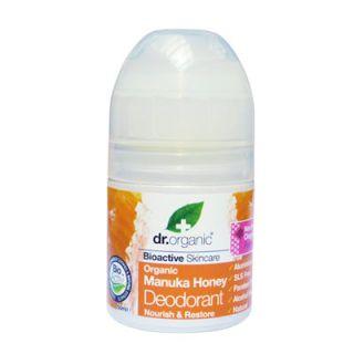 Dr. Organic Manuka Honey Deodorant 50ml Αποσμητικό με Μέλι Μανούκα