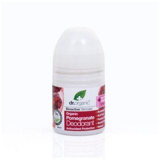Dr. Organic Pomegranate Deodorant 50ml Αποσμητικό με Ρόδι