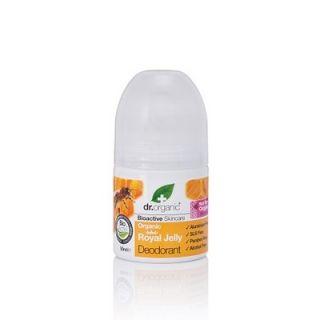 Dr. Organic Royal Jelly Deodorant 50ml Αποσμητικό με Βασιλικό Πολτό