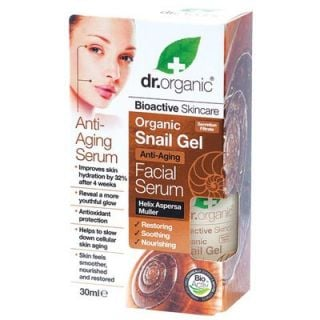 Dr. Organic Snail Gel Facial Serum 30ml Anti-aging
