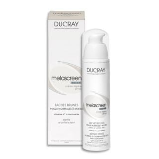 Ducray Melascreen Eclat Creme Legere SPF15 40ml Against Brown Spots for Normal - Combination Skin