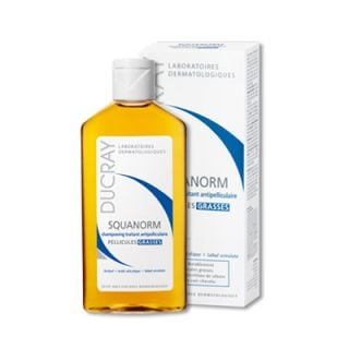 Ducray Shampooing Squanorm 200ml Λιπαρή Πιτυρίδα