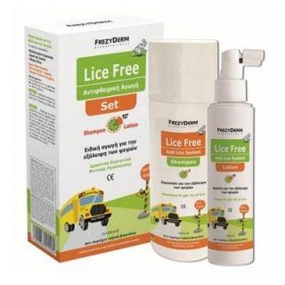 Frezyderm Lice Free Set 2 x 125ml
