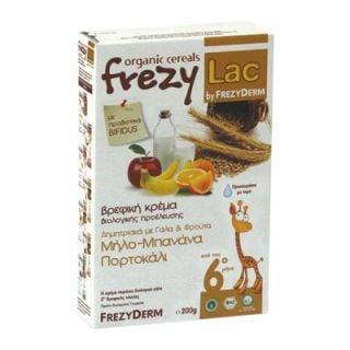 Frezyderm Frezylac BIO Cereal Cereals - Milk - Fruits 200gr