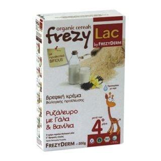 Frezyderm Frezylac BIO Cereal Rice Flour - Milk - Vanilla 200gr