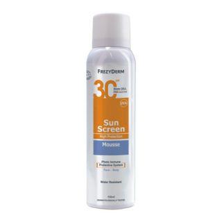 Frezyderm Sunscreen Mousse SPF30 150ml for Face - Body
