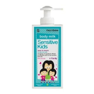 Frezyderm Sensitive Kid's Face and Body Milk - Family 200ml