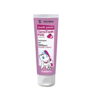 Frezyderm SensiTeeth Kids Toothpaste Strawberry 1000ppm 50ml