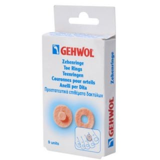 Gehwol Toe Ring Round for Corns 9 Items