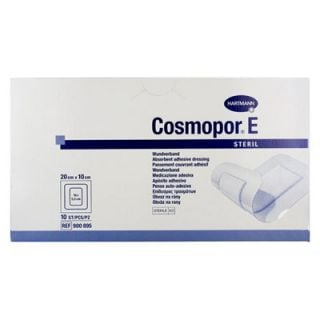 Hartmann Cosmopor E 20x10cm Adhesive Sterile Gauze 10 Items