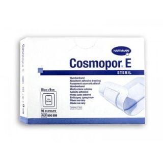 Hartmann Cosmopor E 15x9cm Adhesive Sterile Gauze 10 Items