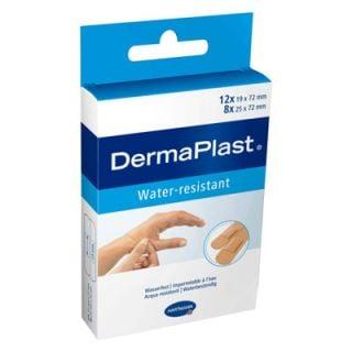 Hartmann Dermaplast Water Resistant Strips 5351253 Adhesive Pads 2 Sizes 20 Items