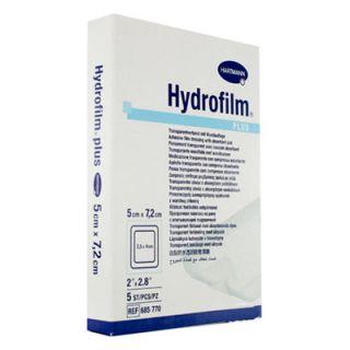 Hartmann Hydrofilm Plus 5x7,2cm Adhesive Transparent Pad 5 Items