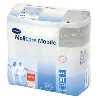 Hartmann Molicare Mobile Extra Large Incontinence Pants 14 Items