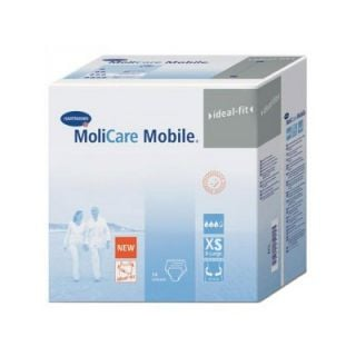 Hartmann Molicare Mobile Extra Small Incontinence Pants 14 Items