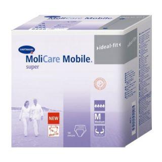 Hartmann Molicare Mobile Super Night Incontinence Pants Medium 14 Items